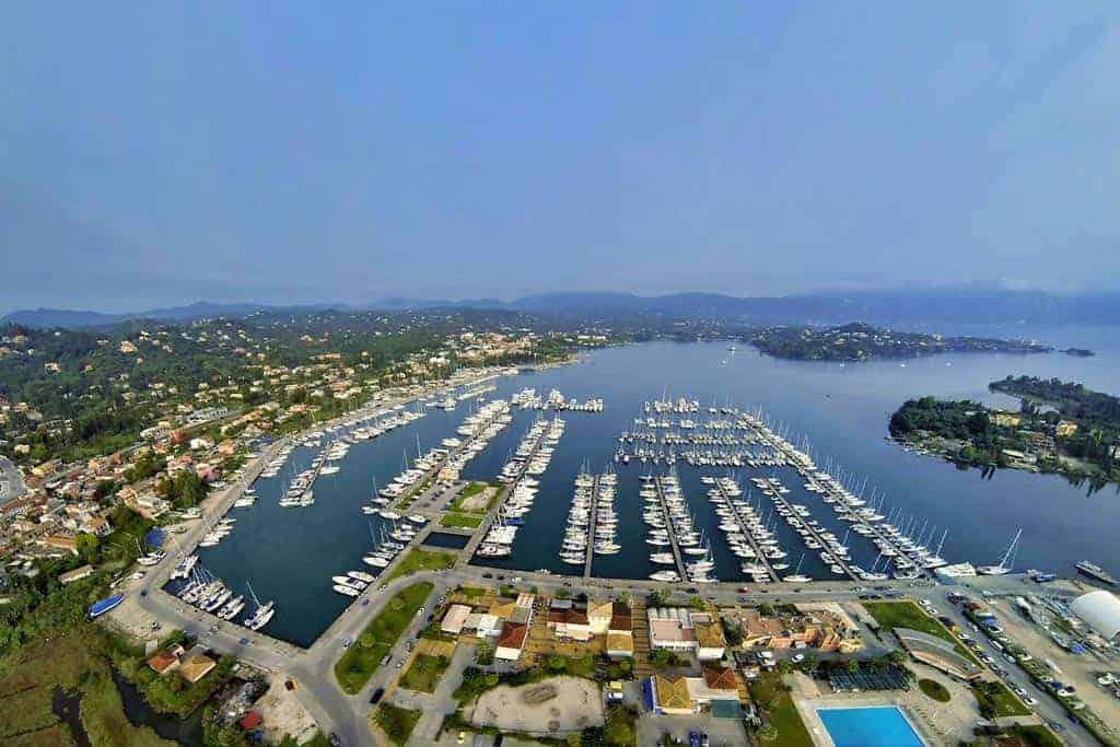 Gouvia Marina Corfu