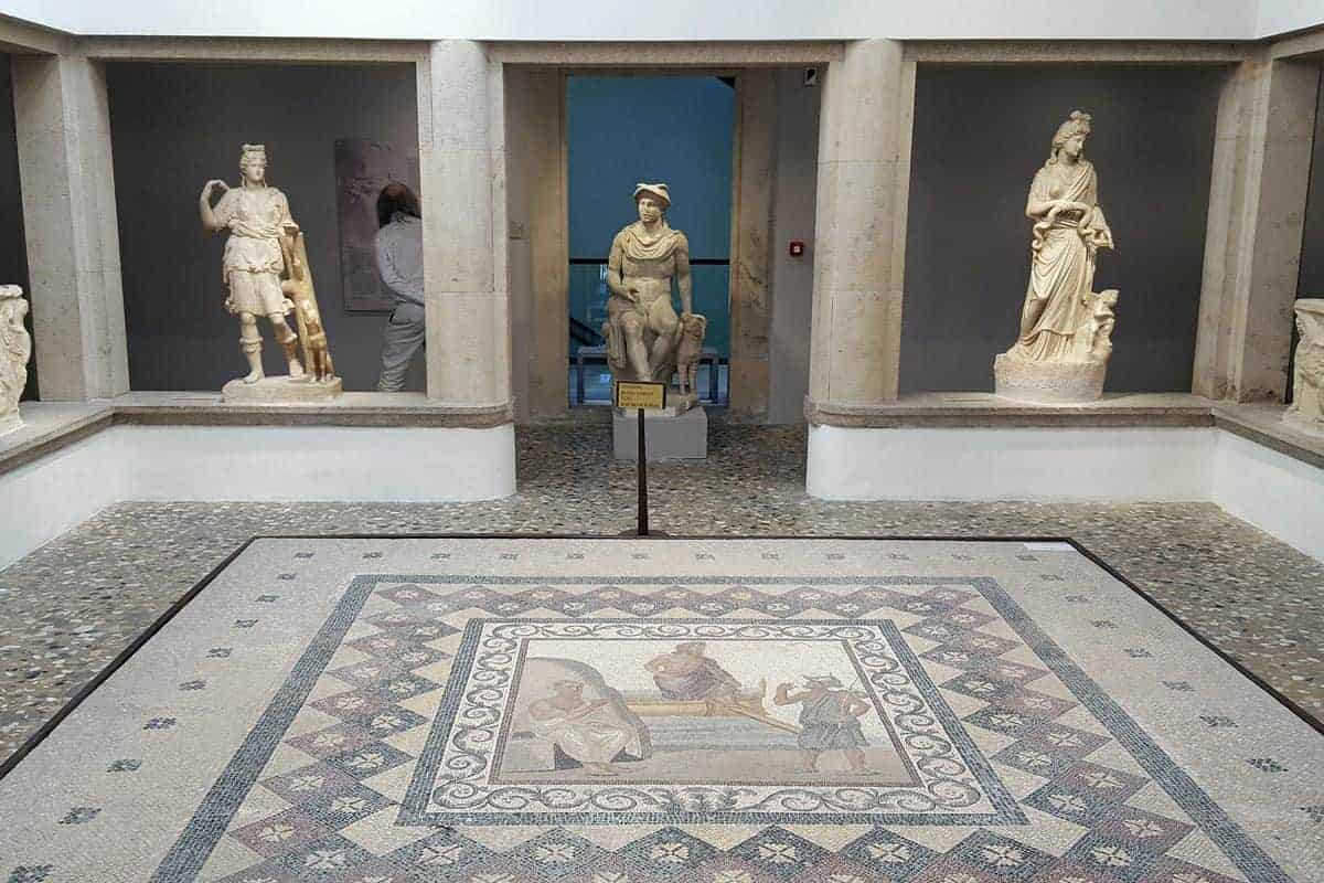 Archaeological Museum Kos Statues