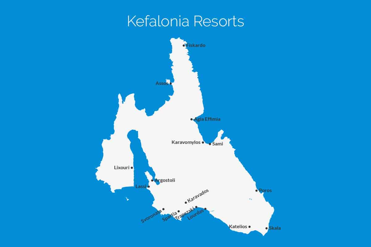 Where To Stay In Kefalonia Island