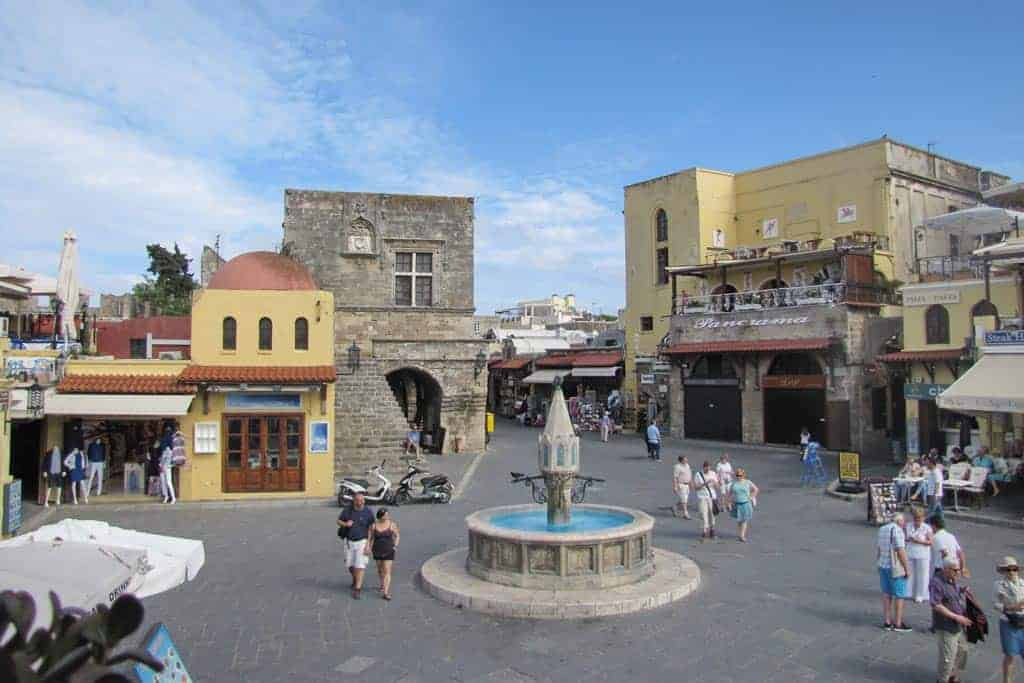 Rhodes Town Square